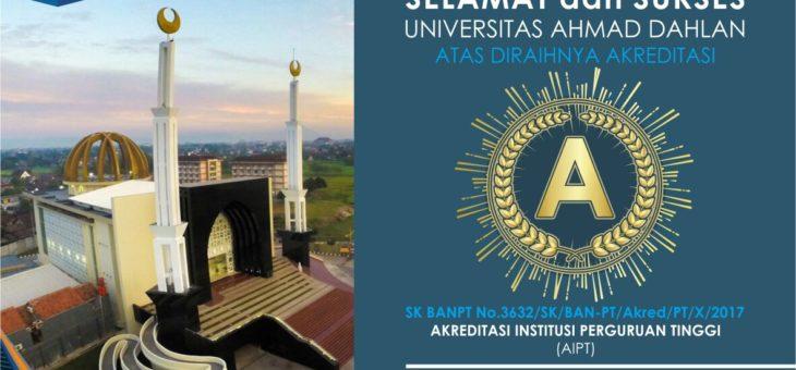 """Alhamdulillah, UAD Terakreditasi """"A"""""""