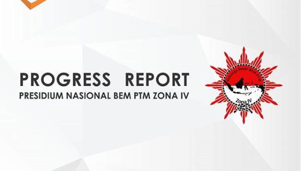 Progress Report RAKORNAS BEM PTMI di UMMAT oleh PRESNAS zona IV