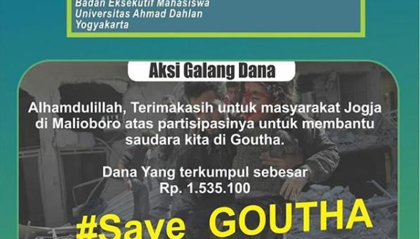 Press Release Aksi Galang Dana